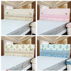 Bed cover simple modern 1.8m bed cover dust cover 1.5m bed back cover protective cover bed cover fabric