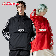 KAPPA Kappa couple men and women windbreaker woven hooded pullover jacket 2019 new K09W2FJ05D