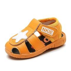 儿童鞋学步1-2-3岁男女婴儿防滑叫叫鞋有带响声音鞋凉鞋男童宝宝