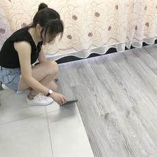 Floor leather thick wear-resistant waterproof pvc floor stickers bedroom self-adhesive household cement floor plastic floor stickers