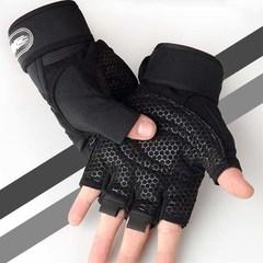 迪卡侬运动健身手套男女房半指器械训练单杠哑铃护腕防滑透气护手