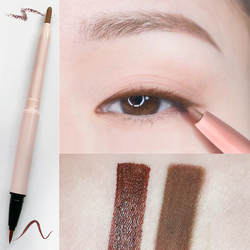男友看不出的伪素颜 棕色铅笔胶笔网红眼线笔防水防汗不脱色持久