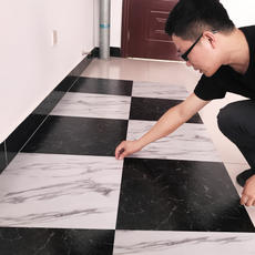 PVC floor stickers free plastic floor leather household thick wear-resistant anti-cement self-adhesive floor stickers plastic floor