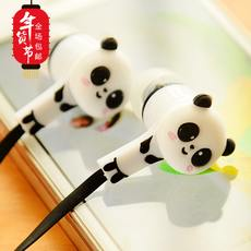 New Korean cartoon cute fashion trend ear in-ear style earbuds female headphone shipping the same day