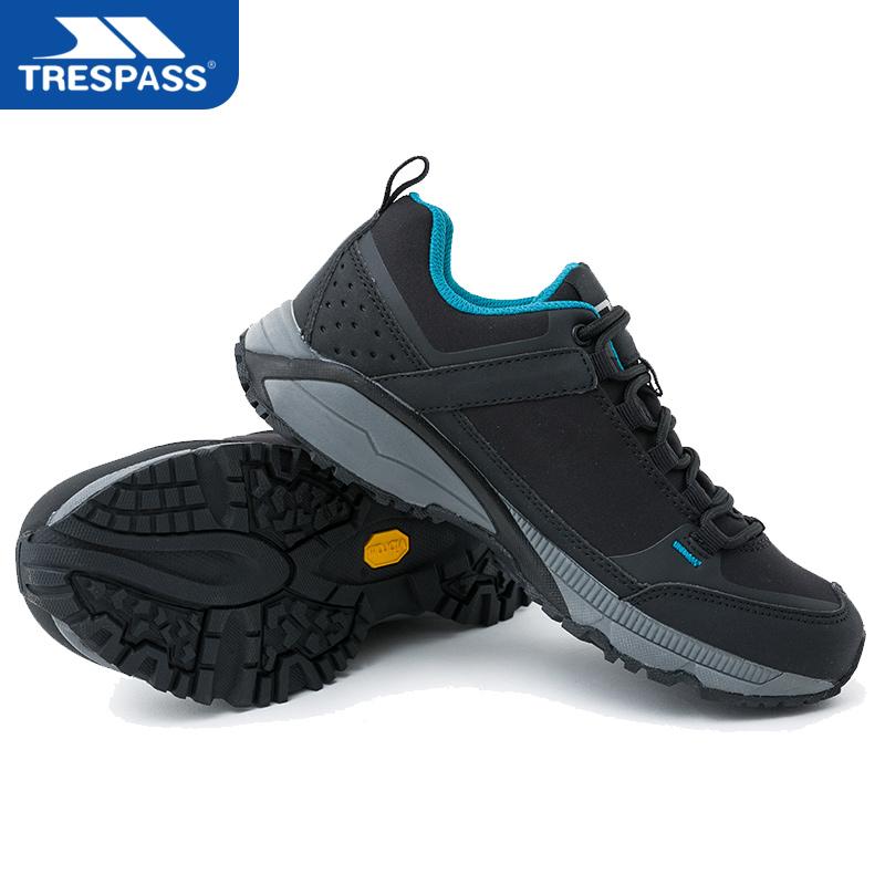 英国TRESPASS户外防水减震登山鞋男女低帮轻便透气防滑越野徒步鞋