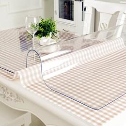 磨砂软玻璃透明水晶板桌面橡胶板PVC软胶板餐桌布茶几垫塑料台垫