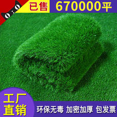 Artificial turf artificial turf artificial plastic fake turf wall kindergarten lawn outdoor green carpet enclosure