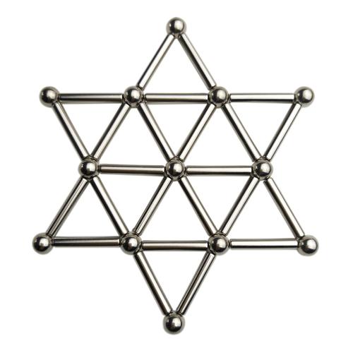 超能EDC巴克球磁力棒创意儿童**段友益智减压玩具磁性磁铁拼装
