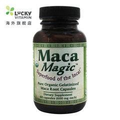 美国 魔法玛卡Maca Magic 玛咖胶囊 补肾 500毫克 60粒