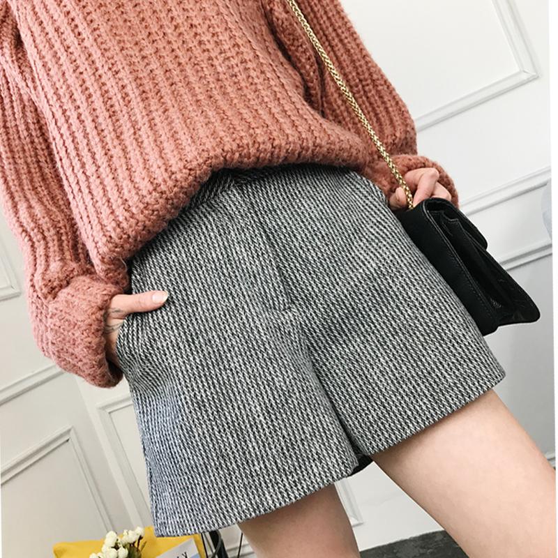 宽松大短裤女