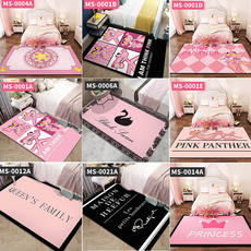 Ins carpet bedroom net red with the room living room full shop cute princess pink bedside large area carpet mat
