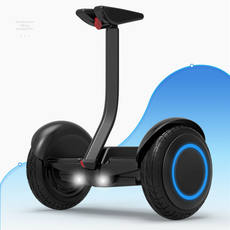 Lithium enjoys smart balance car children's two-wheeled into a scooter two-wheel electric mini drift car with a support bar 10 inch