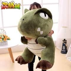 大号萌小恐龙公仔毛绒玩具霸王龙先生玩偶可爱睡觉抱达拉崩吧礼物