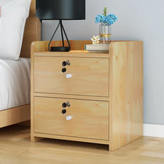 Simple bedside table simple modern locker special offer 50 yuan or less bedroom with lock bed storage cabinet economy