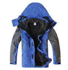 Tibet Tourism Outdoor Jackets Men Three-in-one Two sets of waterproof Windproof Thickening Men Mountaineering Sportswear