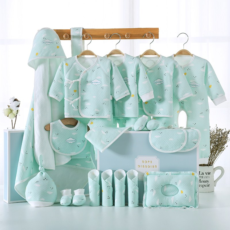 新生婴儿儿衣服棉服套装纯棉礼盒冬季初生刚出生宝宝母婴用品大全
