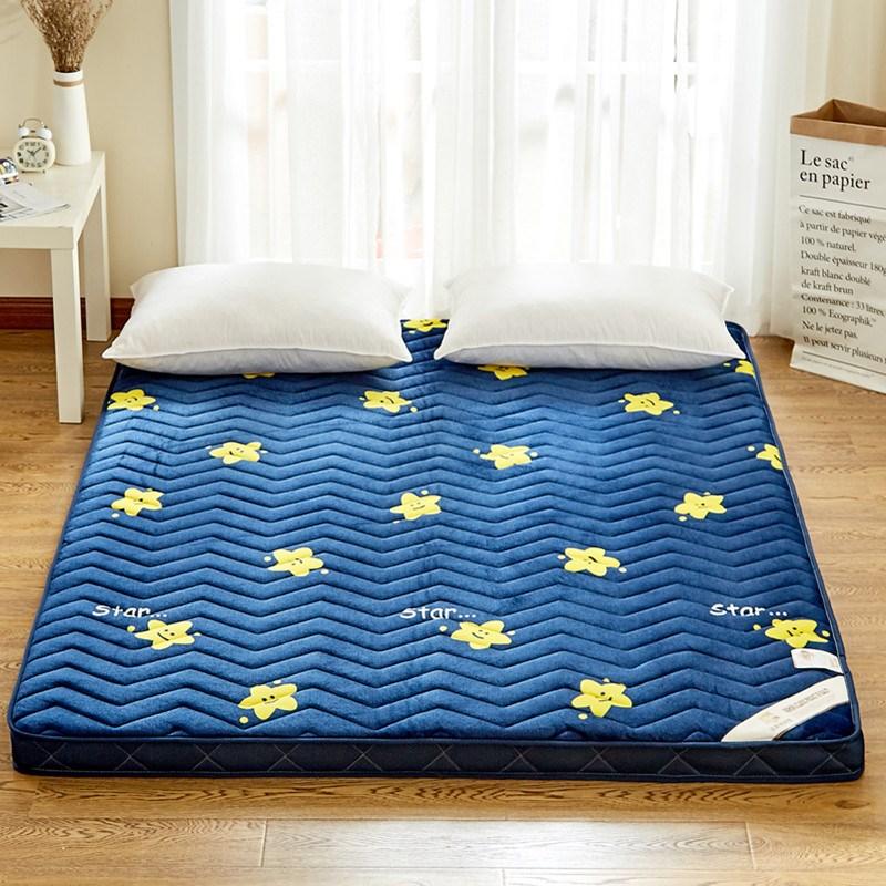 新品隔凉防潮加厚打地铺睡觉睡地学生泡沫床垫睡垫双人垫子可2018