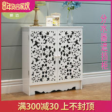 Fixed water separator cover cabinet decorative box simple gas meter box bathroom washable radiator decorative cover box
