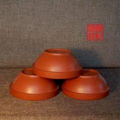 紫砂碗蒸菜碗小容量碗农家蒸碗家用土钵蒸米饭红陶钵头土陶碗饭碗
