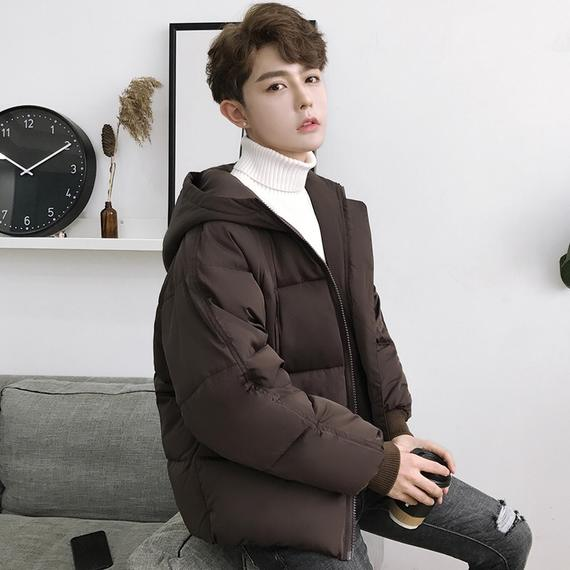 Anti-season promotion ulzzang cotton men's short bread clothing jacket couple thick cotton clothes youth loose cotton jacket
