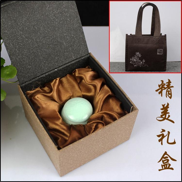 陶瓷茶叶香粉罐化妆品蜂蜜膏方瓶礼盒套装定制设计LOGO包装盒子