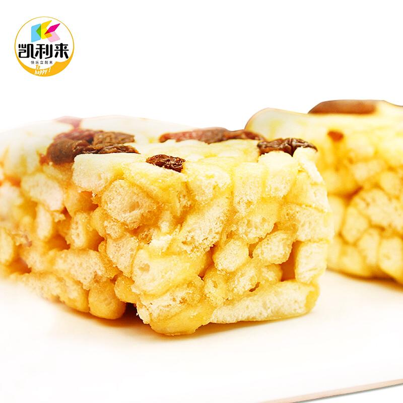 凯利来沙琪玛酥1000g小吃零食香酥饼干糕点心早餐下午茶整箱包