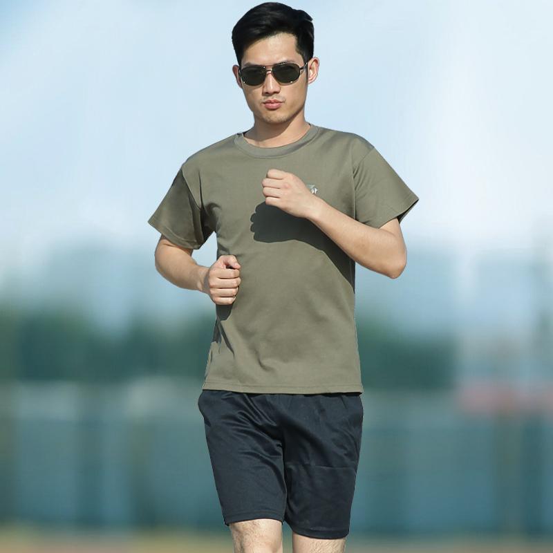 体能训练服套装特种兵速干t恤军迷军装女夏装迷彩短袖T恤战术服装