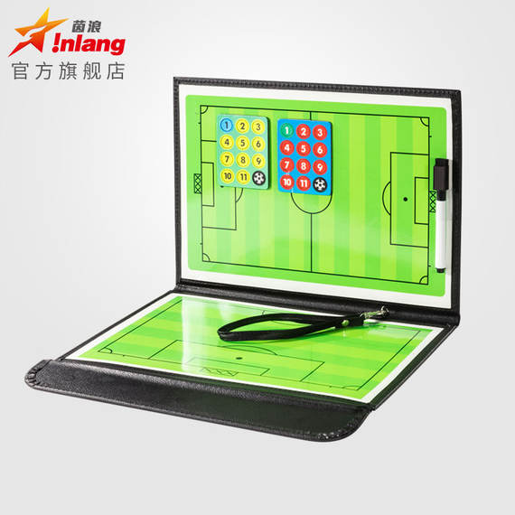 Yinlang football tactic board coach tactics board coach supplies magnetic football game demonstration board