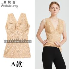 Clearance specials autumn and winter 37 degrees constant temperature double warm lace vest bottoming shirt fever sleep cotton underwear female