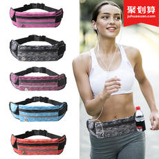 Sports pockets men and women outdoor running fitness equipment multi-function waterproof invisible small belt bag kettle phone bag