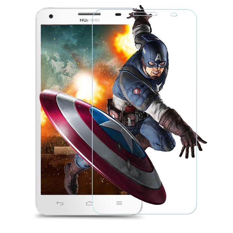 华为荣耀3x畅玩版钢化膜荣誉3x防爆pro高清玻璃G750手机保护前模