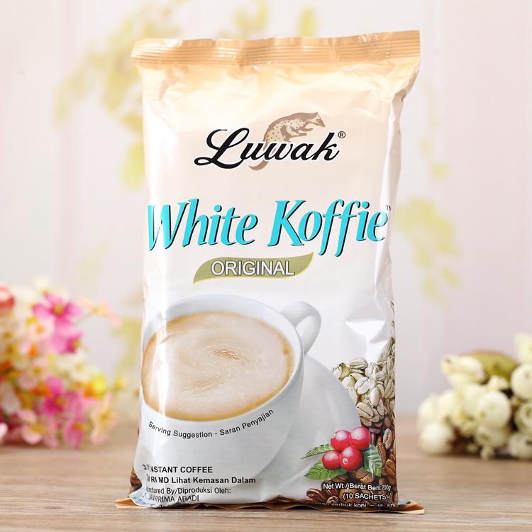 印尼巴厘岛猫屎咖啡粉非nestle白咖啡速溶咖啡特浓提神非越南咖啡可领取领券网提供的3元优惠券
