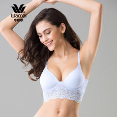 Wacoal Wacoal comfortable no steel ring simple and seamless wild back bra WB1686