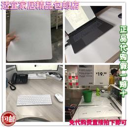 宜家普罗叶斯克鲁特透明白色书桌垫办公桌垫抽屉垫防尘垫防护垫