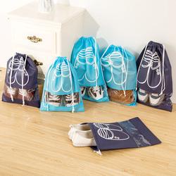 鞋子收纳袋鞋袋装鞋盒运动鞋包收纳袋鞋套束口旅行收纳袋子10个装