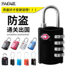 Bagail travel clearance Tsa customs lock luggage travel bag gym cabinet anti-theft mini password lock