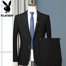 Playboy male suit suit business is working out to work, work casual men's wear professional suit suit