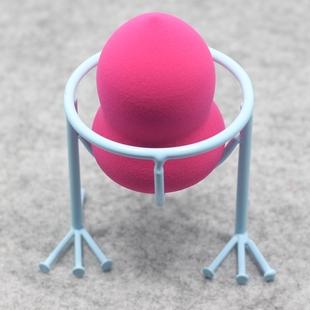 粉扑支架 鸡蛋托 美妆蛋托 美妆蛋收纳 颜色随机