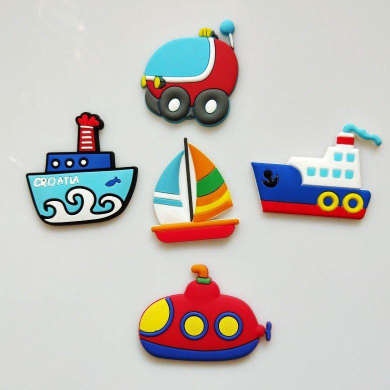 字母冰箱贴PVC软胶磁性教学教具磁铁玩具英文数字创意卡通吸铁石