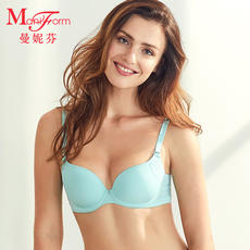 Mani Fen Light Breathable Silk Cotton Cup Bra Elegant, Seamless, Stable, Inclusive, Underwear, Thin, Full-bodied
