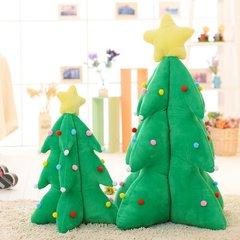 圣诞树毛绒玩具礼物可音乐发光发声圣诞帽女朋友抱枕私人定制