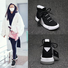 Socks shoes female spring 2018 new Korean students Harajuku style ulzzang leisure sports hip-hop ins super fire