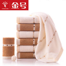 Gold large cotton towel thickening cotton facial towel couple adult household wash towel soft absorbent