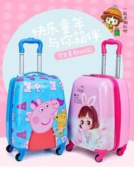 旅行箱拉杆书包儿童卡通小学生拉杆箱行李箱可爱时尚女童小学生