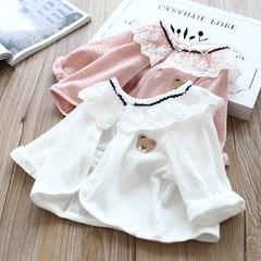 儿童披肩夏季棉质薄款五分袖2019新韩版公主短款防晒衫女童小坎肩