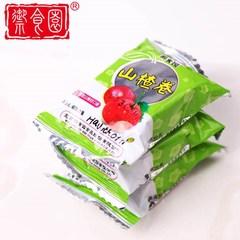 北京特产御食园山楂卷500g果丹皮红果脯果糕休闲儿童营养美味零。