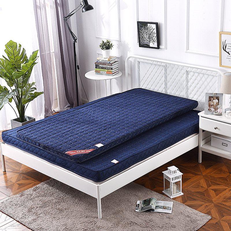 床垫1.8m1.5m学生宿舍单双人床褥榻榻米记忆立体纤维床垫加厚保暖