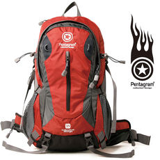 Authentic Pentagram five-pointed star water-resistant mountaineering bag shoulder riding backpack PM01