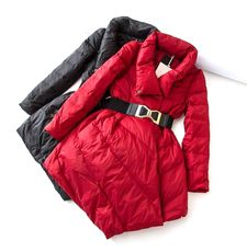 Will enter!Warm winter clearance benefit!To steal the mirror strength goods! Korean women Slim thin thin down jacket