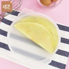 焙艺班戟皮模具8寸PP班戟盘微波炉用烘焙千层慕斯圈蛋糕皮平底盘